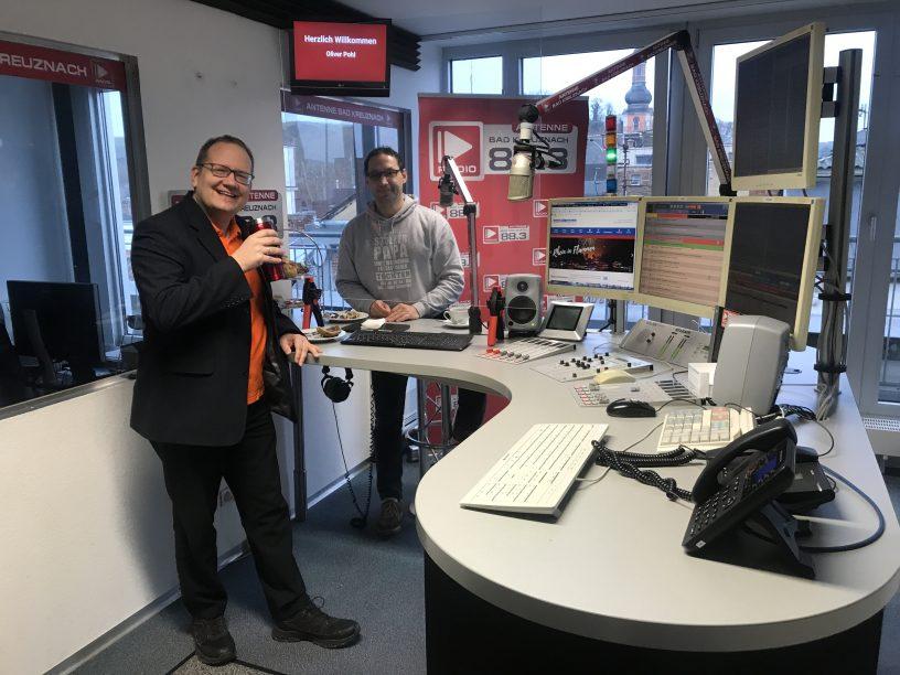 Im Gespräch mit Oliver Pohl von der Rheinfähre Bingen-Rüdesheim