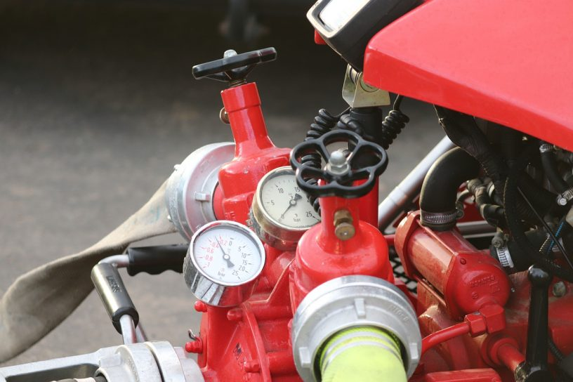 Fire Pump Extinguishing Pump  - manfredrichter / Pixabay