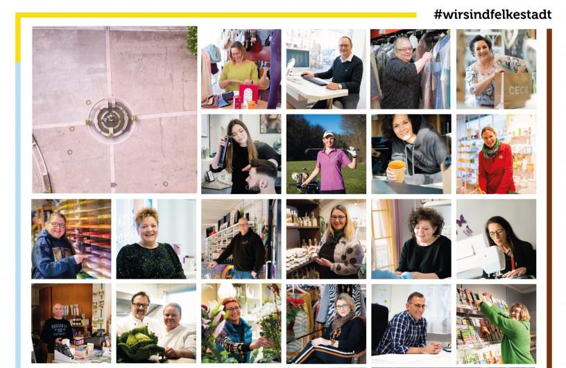 """Positive Resonanz auf Fotoaktion """"#WirsindFelkestadt"""""""