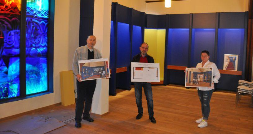 Ausstellung über jüdisches Leben