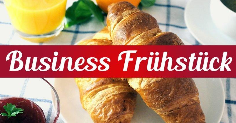 Das Businessfrühstück vom 20. April