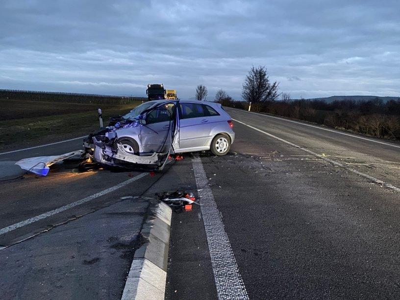 Unfall mit 77-jährigem PKW-Fahrer