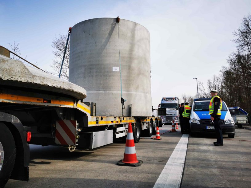 Transportgewinn bei LKW-Kontrollen eingezogen