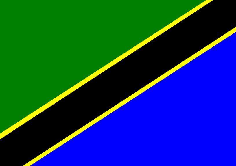 Africa Flag Tanzania Zanzibar  - OpenClipart-Vectors / Pixabay