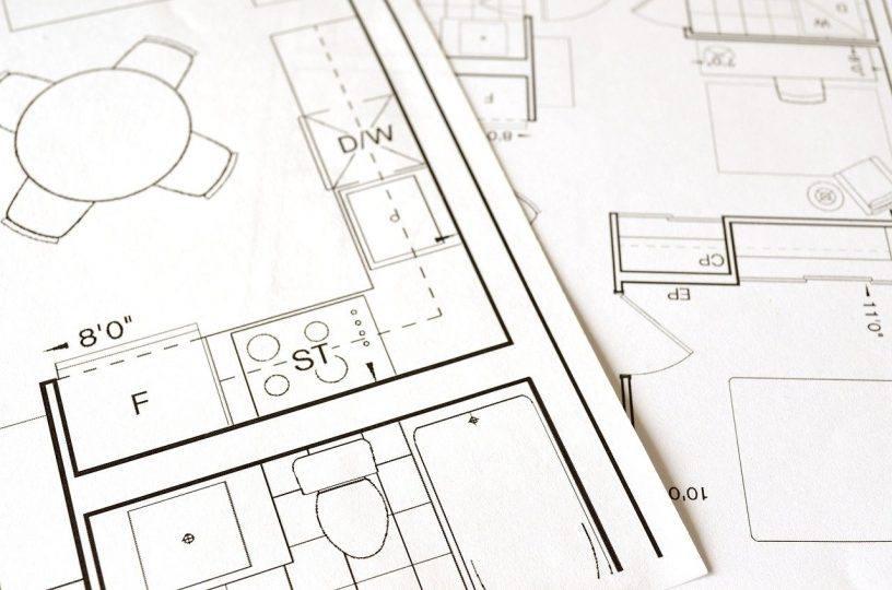 Floor Plan Blueprint House Home  - ElasticComputeFarm / Pixabay