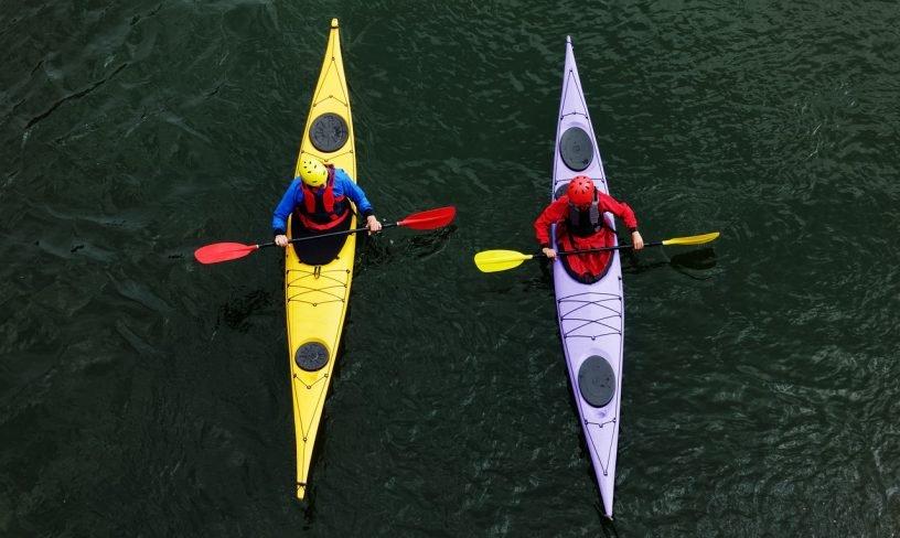 Kayak Canoe Kayaking Two Adventure  - aitoff / Pixabay
