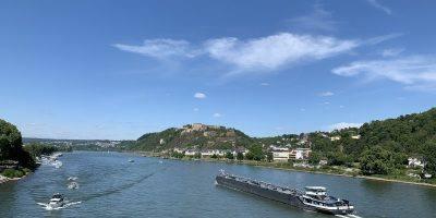 Rhine Koblenz Fortress River  - spinheike / Pixabay