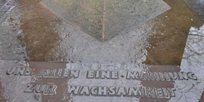 Bad Kreuznach: Erneut Bronzetafeln in Bad Kreuznach gestohlen