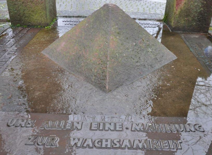 Erneut Bronzetafeln in Bad Kreuznach gestohlen
