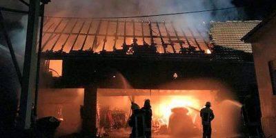 Regional: Möglicher Brandstifter von Unkenbach in Haft