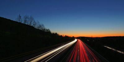 Autobahn Highway Lights Dark  - STRIEWA / Pixabay