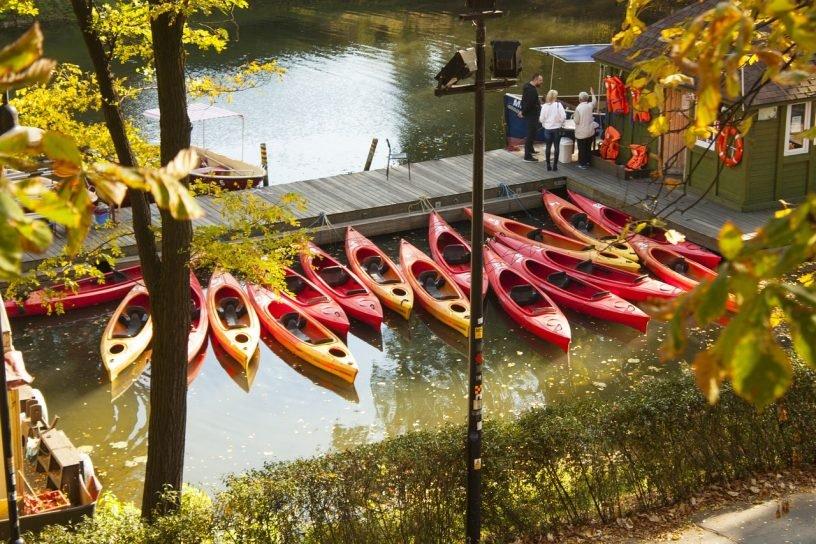Boat Kayak Kayaks Nature Water  - ProPolski / Pixabay