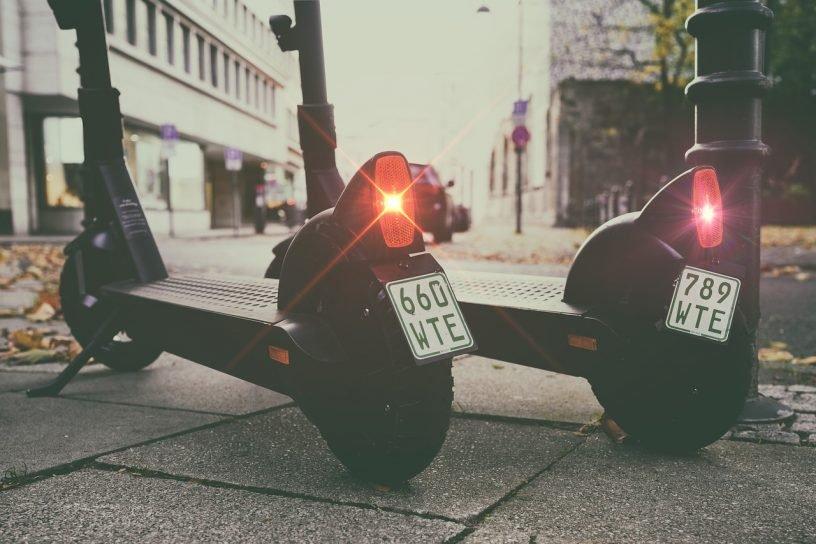 Roller Ebike E Scooter City Mobile  - Nikguy / Pixabay