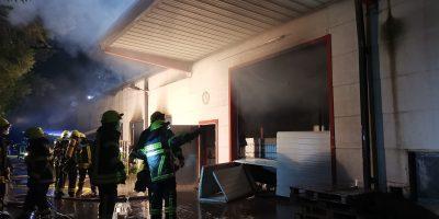 Bad Kreuznach: Großbrand in Pfaffen-Schwabenheim