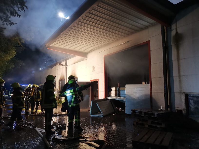 Großbrand in Pfaffen-Schwabenheim