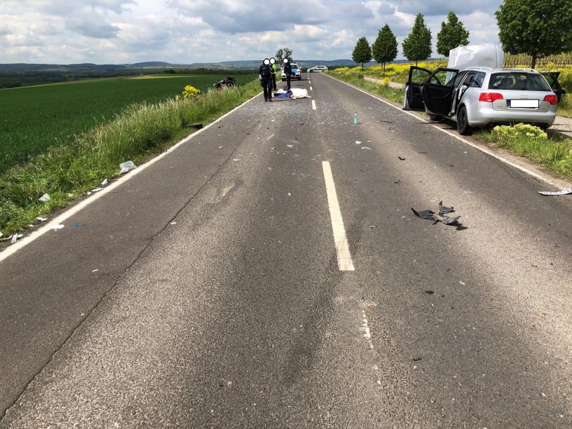 Tödlicher Verkehrsunfall bei St. Johann