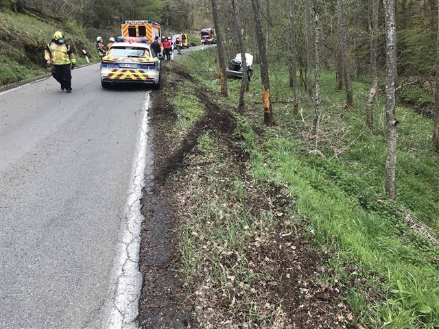 Unfall auf L172 zwischen Nohen und Rimsberg