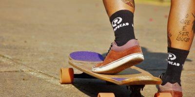 Skateboard Model Woman Girl Long  - Evitonaraujo / Pixabay