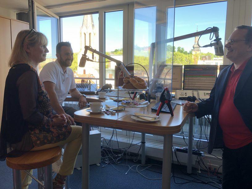 Zu Gast: Petra Woll und Maximilian Beck