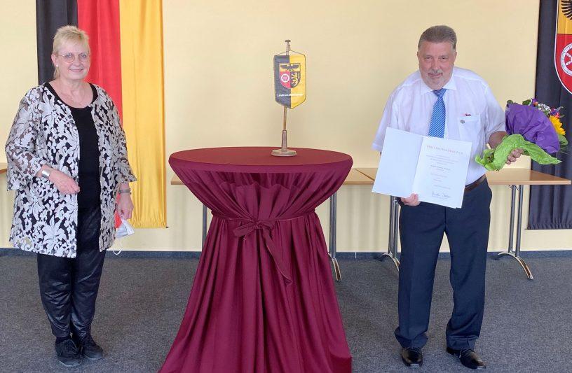 Landesehrennadel für Rudolf Priesel aus Gensingen