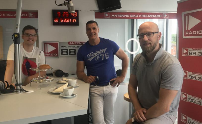 Zu Gast: Andreas Schnorrenberger und Dennis Dell vom Funplace Bad Kreuznach