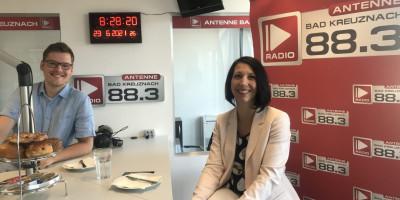 Businessfrühstück: Zu Gast: Jasmin Meisberger vom Reisecenter TUI Bad Kreuznach