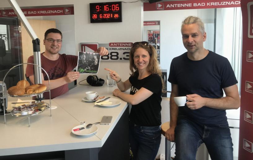 Zu Gast: Julia Oschewsky und Marc Kluschat vom Duo Kleingartenanlage