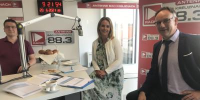 Businessfrühstück: Zu Gast: Julia Franz und Frank Müller vom Landeskrankenhaus