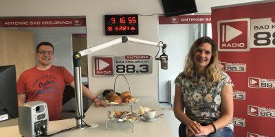 Businessfrühstück: Zu Gast:  Petra Häffner vom Stoff-Tempel Bad Kreuznach
