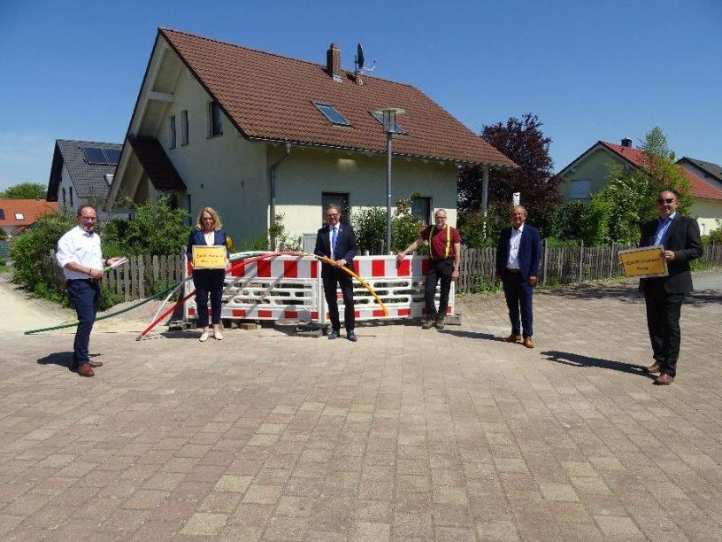 Startschuss für Glasfaserausbau in Bosenheim