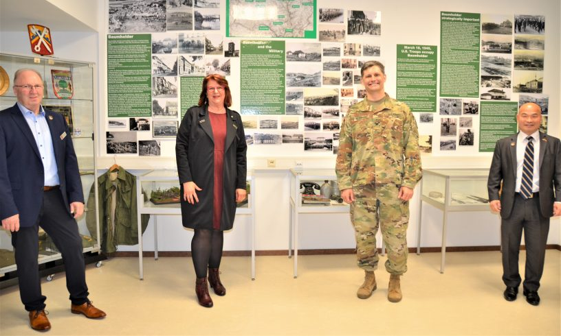 Lezius besucht US-Army in Baumholder
