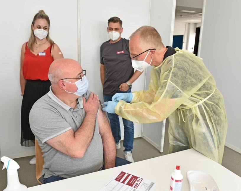 Impfungen bei Farbwerke Meffert