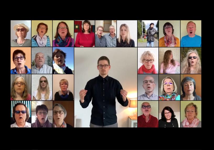 """""""Kreuz & Quer"""" im Wettbewerb um den besten virtuellen Chor"""