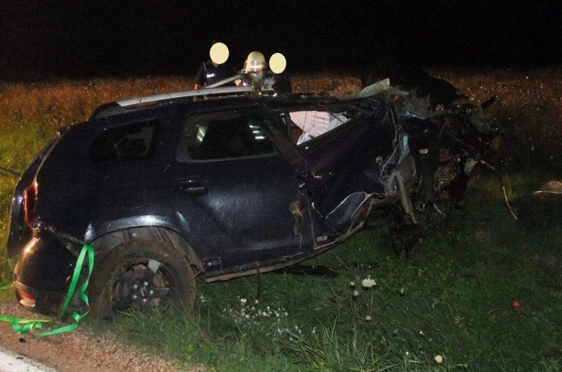 Autounfall bei Roxheim