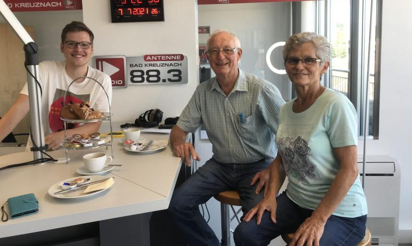 Zu Gast: Isolde und Hermann Nagel vom Radiomuseum Nordpfalz