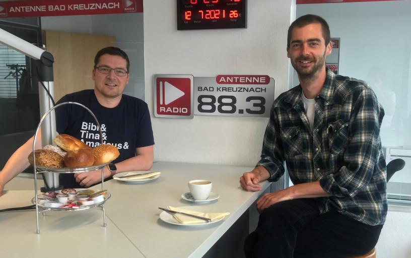 """Zu Gast: Marius Brüggen von """"Gegen Noma e.V."""""""