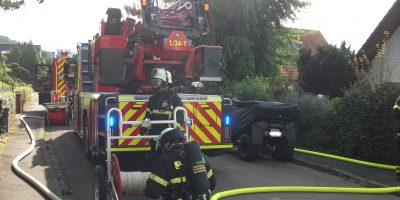 Bad Kreuznach: Brand in der Königsberger Straße