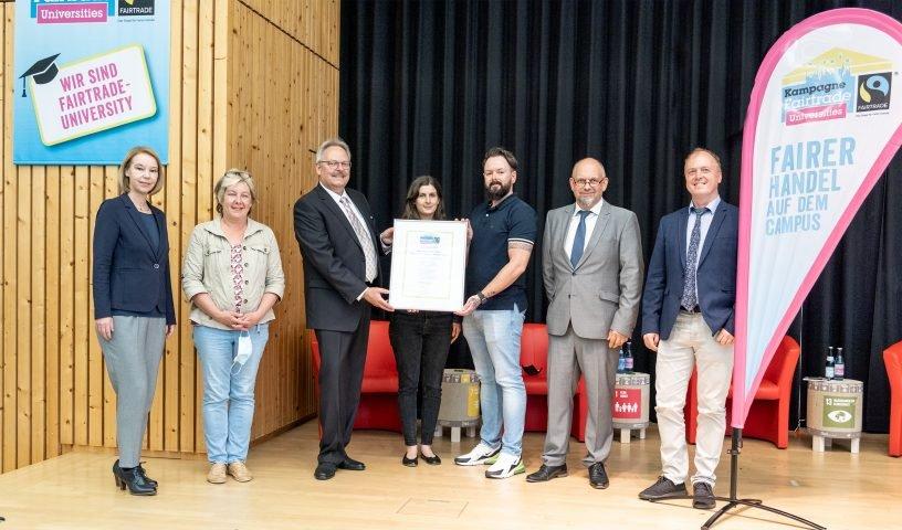 Fairtrade-Siegel für Umwelt-Campus Birkenfeld
