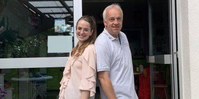 Lara Schmitt und Jens Strube
