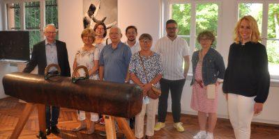 Bad Kreuznach: Ausstellung zu Olympioniken eröffnet