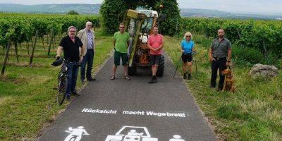 """Mainz-Bingen: """"Rücksicht macht Wege breit"""""""