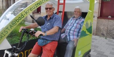 Bad Kreuznach: Rikschafahrten für den guten Zweck