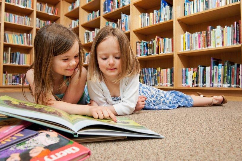 Nachhaltigkeistprojekt in Bücherei hoch drei