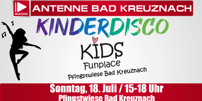 Ihre Antenne: Kinderdisco beim Kids Funplace