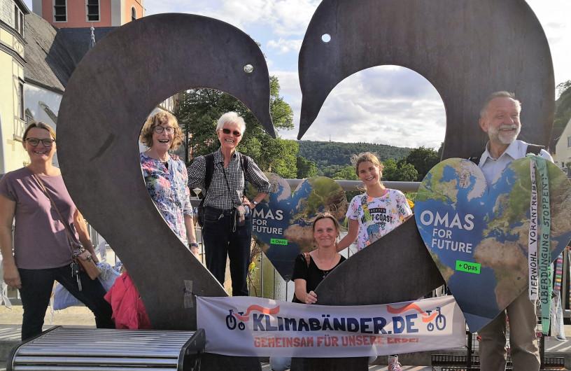 Omas und Opas for future sammeln weitere Klimawünsche