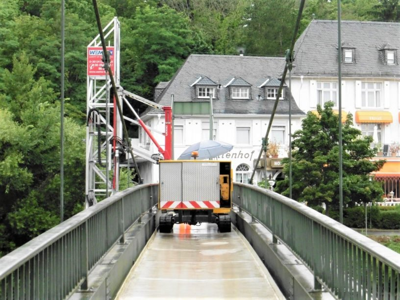 Zustand der Quellenhofbrücke leicht verschlechtert