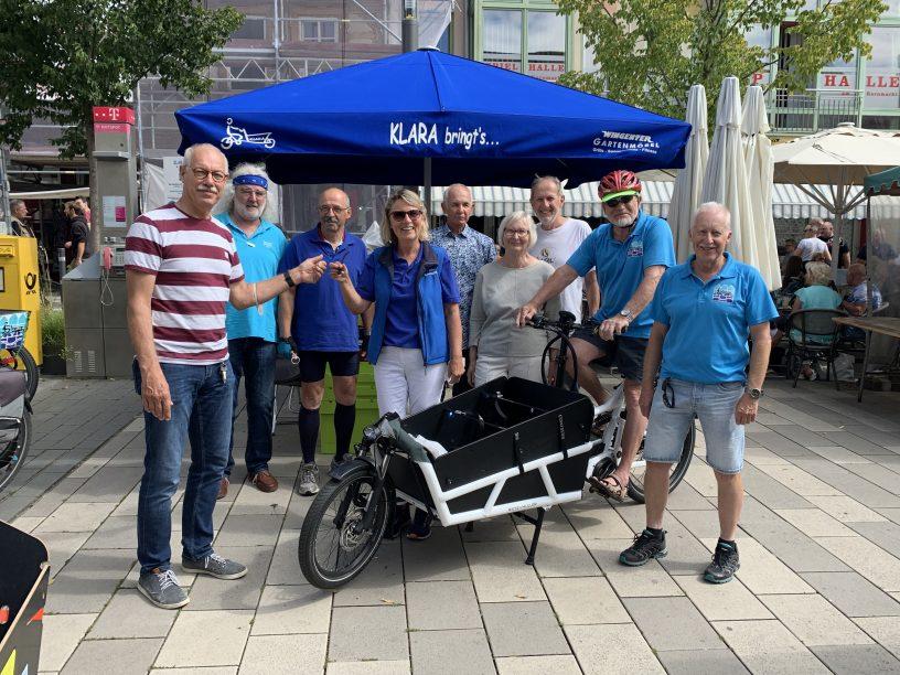 Neues Lastenrad für KLARA