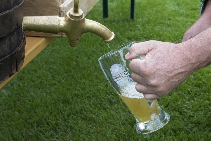 Neue Brauerei und Bierkönigin in Duchroth