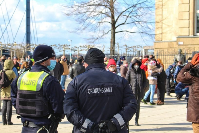 Demonstrationen in Bingen und Ingelheim