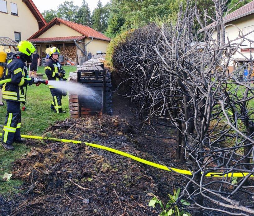 Brände in Spabrücken und Winterbach